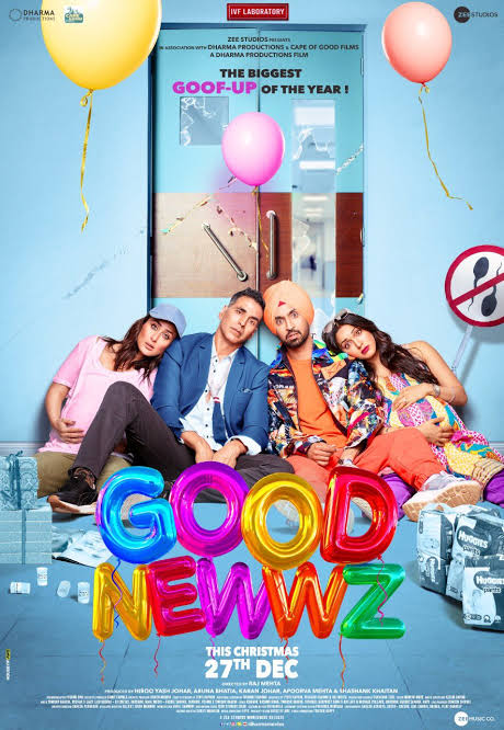 1 year of the best Comedy movie I have seen #1YearOfGoodNewwz