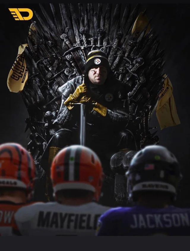 Make room, make room for the King of the North!!! #Steelers #HereWeGo