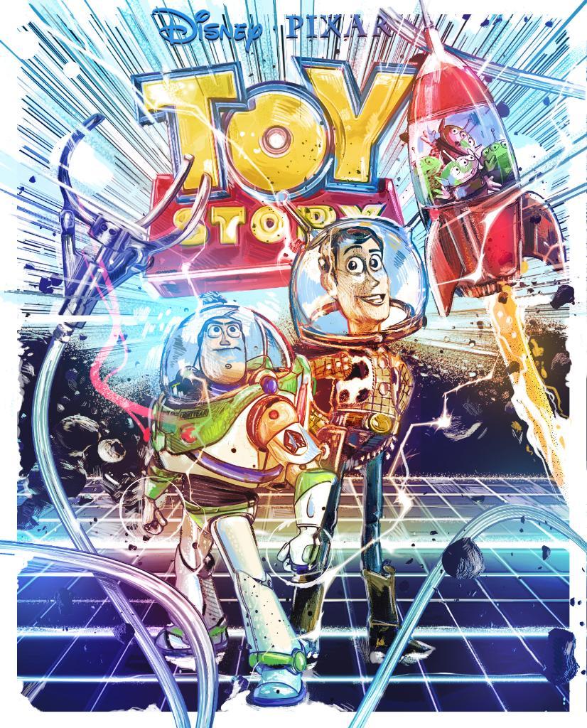 Para celebrar el 25 aniversario de Toy Story, Pixar ha publicado tres posters reimaginando la primera película que lo inicio todo. 🙌🏻  Las géneros son: 🔹 Sci-Fi 🛸 🔷Film Noir 😱 🔶 Western 🤠  ¿Te habría gustado que hubieran llegado al cine? 🤔  #ToyStory25 #ToyStory