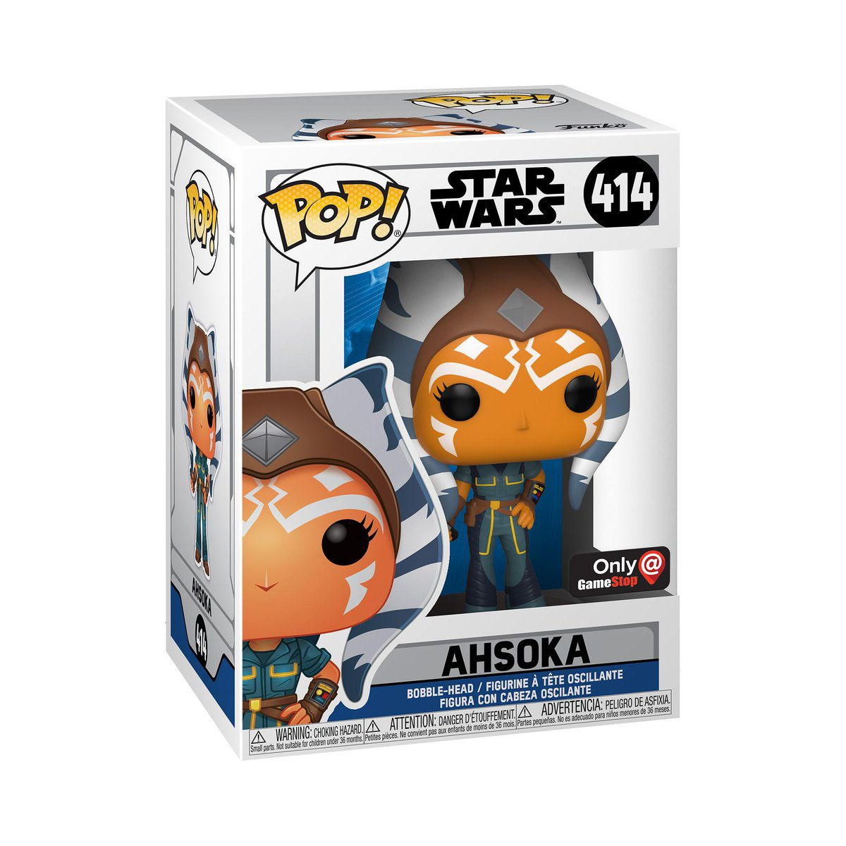 RT & follow @OriginalFunko for the chance to WIN this @GameStop exclusive Ahsoka Pop!  #Funkogiveaway #giveaway #Ahsoka