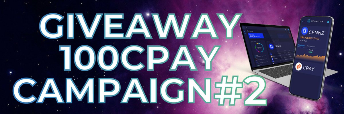 For your chance to win more $CPAY 🥳 follow the instructions in the tweets below 👇