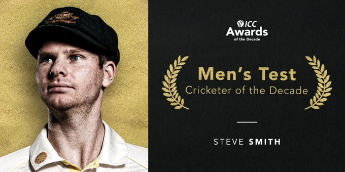 ICC Awards: Virat Kohli has won ICC Male Cricketer of the Decade award while MS Dhoni bagged the award for ICC Spirit of Cricket Award.