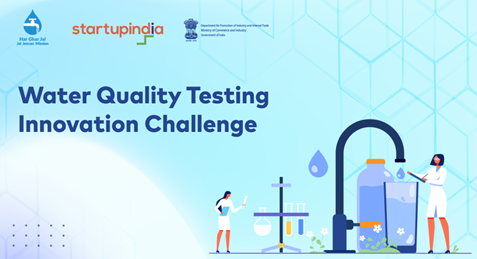 The National #JalJeevanMission initiated an innovation challenge in partnership with the Department of Promotion of Industry and Internal Trade @DIPPGOI  to develop portable devices for water testing.   @PMOIndia @gssjodhpur