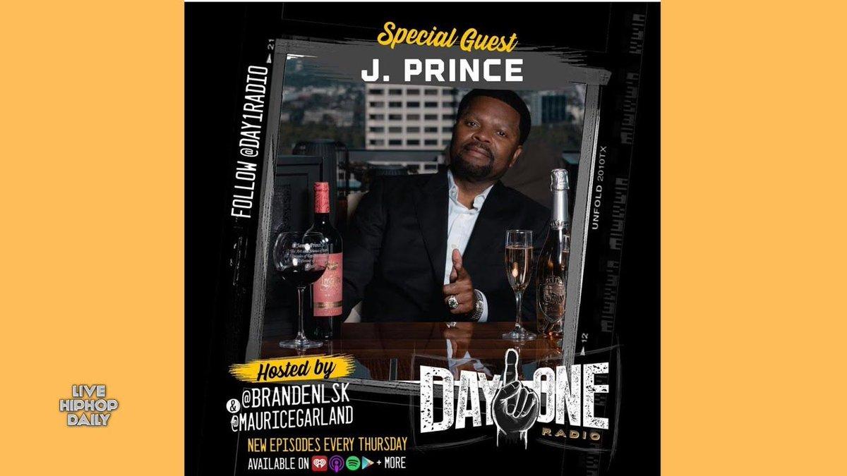 #JPrince Talks Loyalty Wine, Boxing & Verzuz | Day1Radio #Podcast  #hiphoppodcast #jprincejr