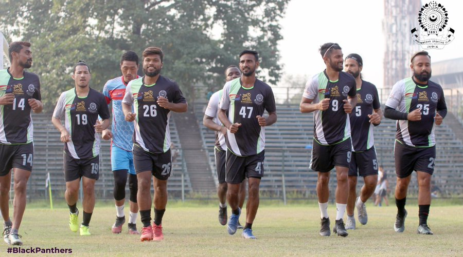 Mohammedan Sporting Club prepare for I-League