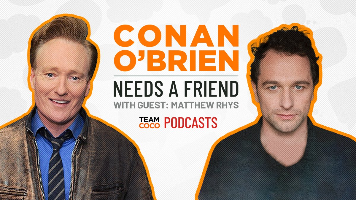 Thank you to @MatthewRhys for pretending to be my friend for one hour and no pay. Listen @