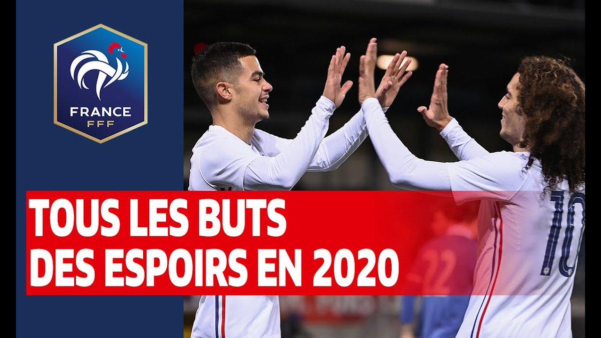 Tous les buts inscrits par l'Equipe de France Espoirs en 2020 !