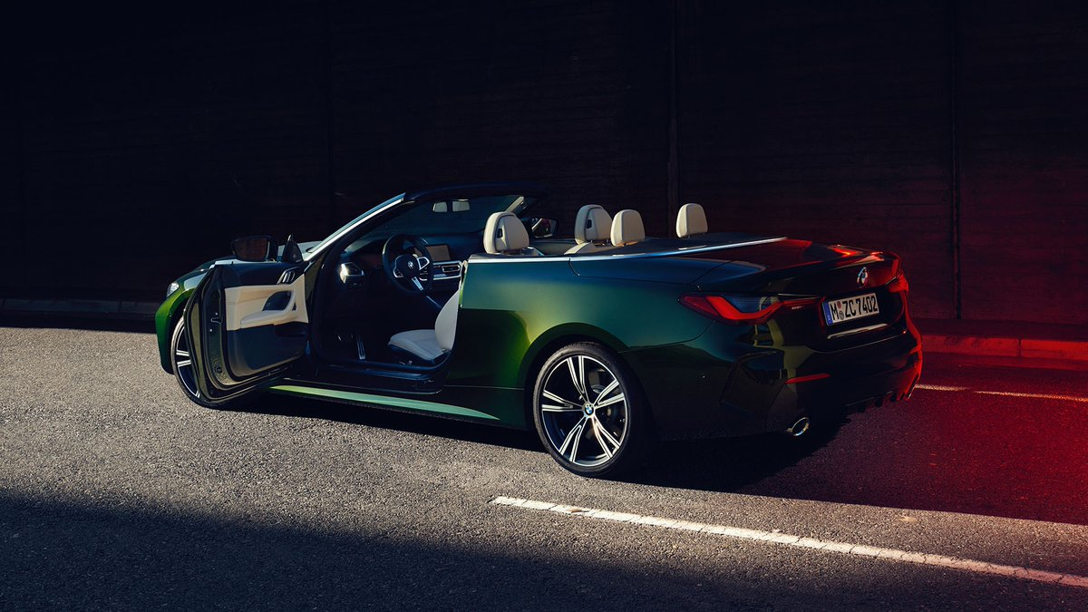 Just hop in and tell us where's next. The all-new BMW 4 Series Convertible. #THE4