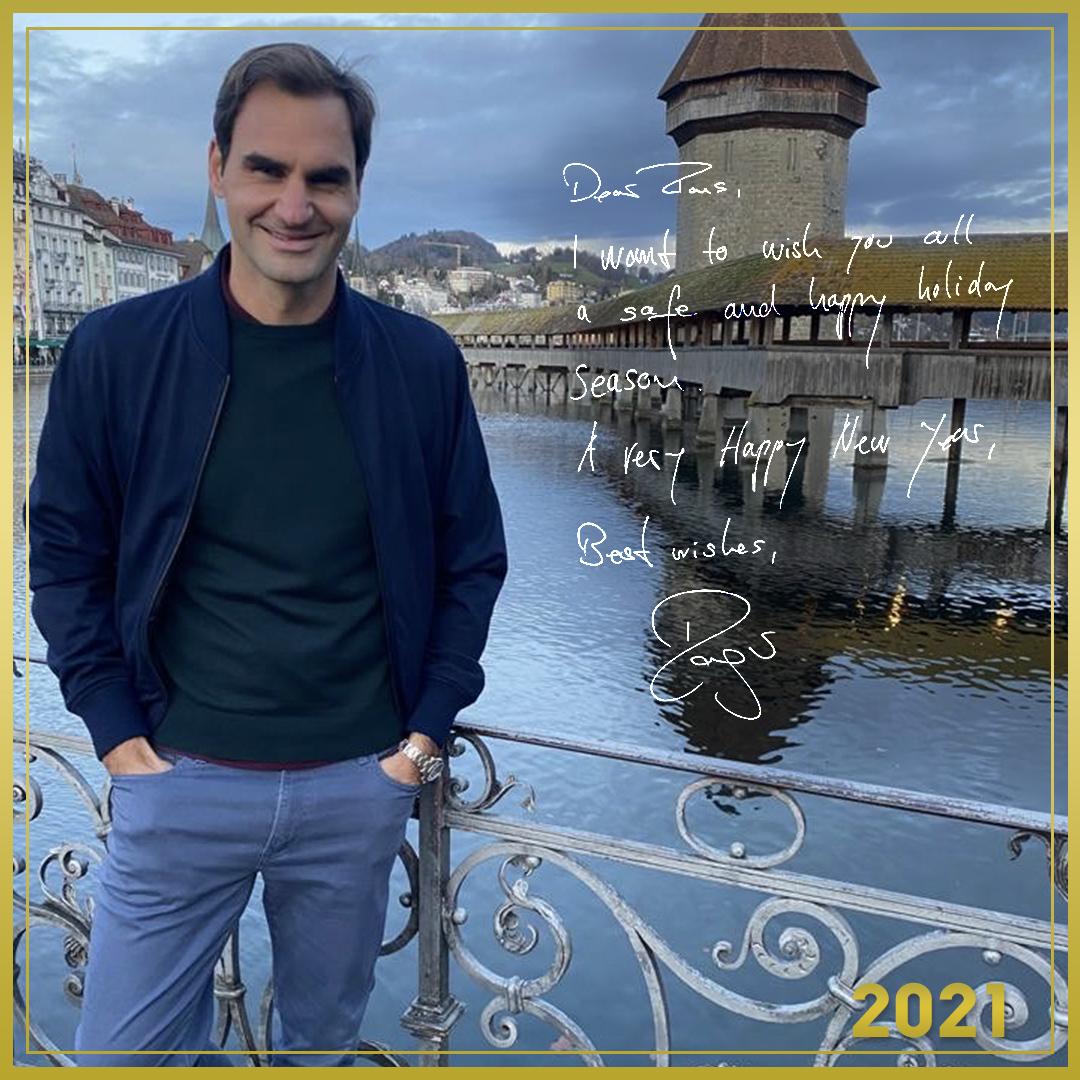 A message from Roger Federer(@rogerfederer ), UNIQLO Global Brand Ambassador #UQAmbassadors #NewYear2021