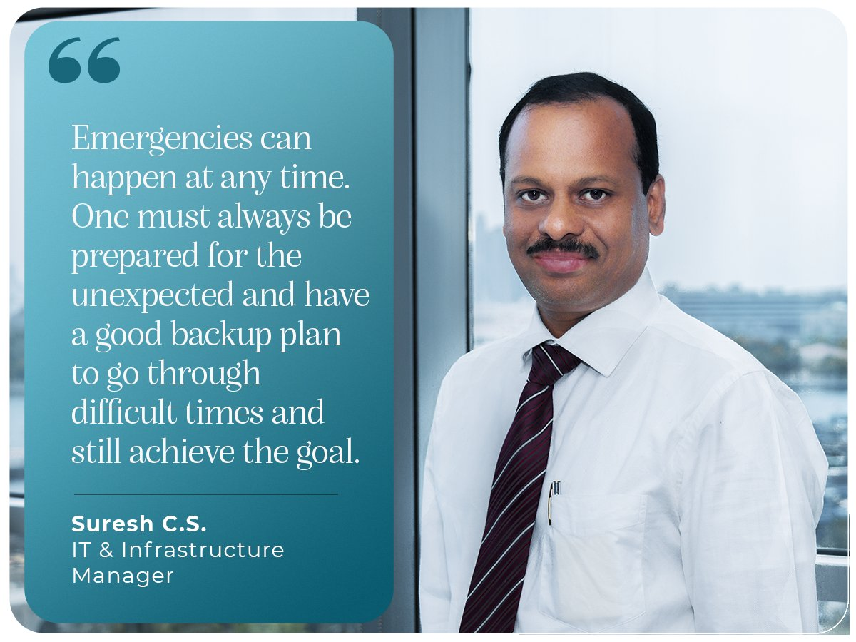 Preparedness and a sound mind is the key to conquer any situational challenge. Our IT & Infrastructure Manager, Suresh Sukumaran stresses on these aspects and how best to tackle change. #year2020 #learnings #newyearresolutions #countdownbegins #iamscientechnic https://t.co/tmUFjyKFDC
