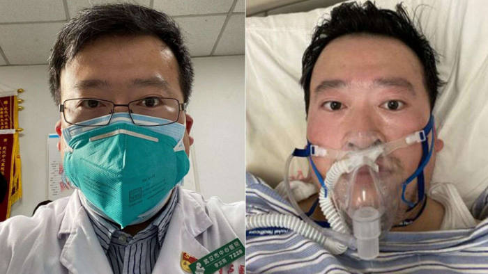 This week we mark 1 year since Dr. Li Wenliang sounded the alarm over a large number of SARS-like patients at his Wuhan hospital.  Li was silenced by the police and kept working with his patients.  In early January he caught the new disease and died from it in February aged 33.