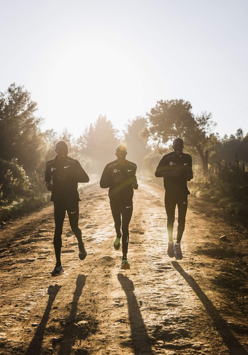 I love mornings like these with my friends Augustine and Jonathan. Do you get to run with your friends?