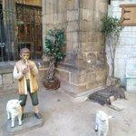 Image for the Tweet beginning: クリスマス🎄は過ぎましたが、スペインのクリスマスシーズンは、1月6日の王様の日👑までまだまだ続きます❗クリスマスの飾りもそのまま。 バルセロナの大聖堂では毎年、中庭全体を舞台にベレンが飾られます。順路を通ってベレンの中も歩けます。1月10日まで😉 #スペイン #バルセロナ #大聖堂 #ベレン