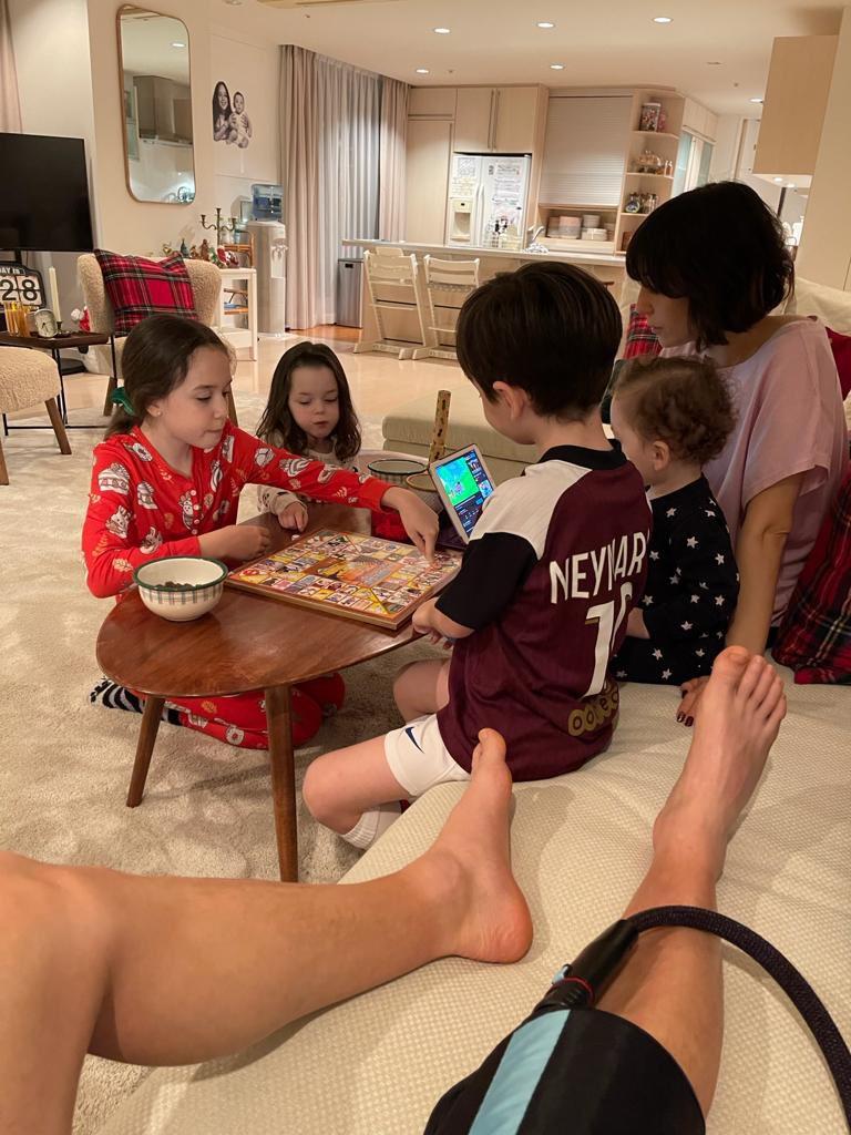 Juegos de mesa ❤️ #Familytime #Ravapas💫#Recovery #Day13   テーブルゲーム ❤️