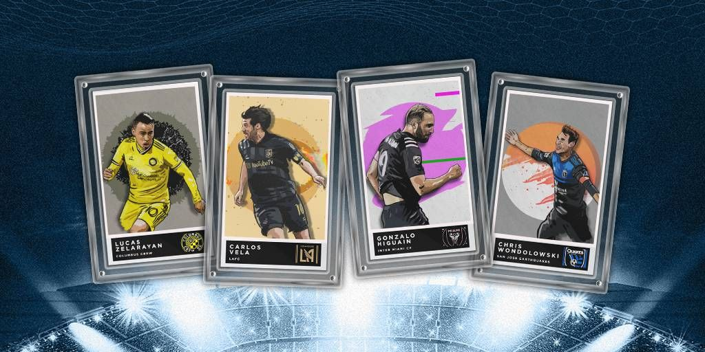 Our talented friends from @MLS created stunning Illustrated Cards for the #MLSCupPlayoffs and now they arrive in KICK! |