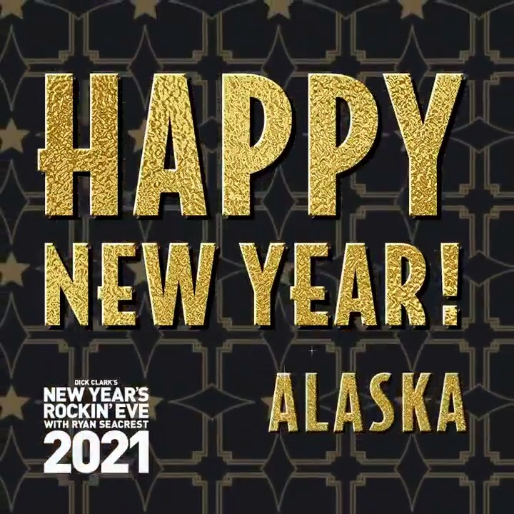 Happy New Year to our friends in Alaska! ✨🥂 #RockinEve