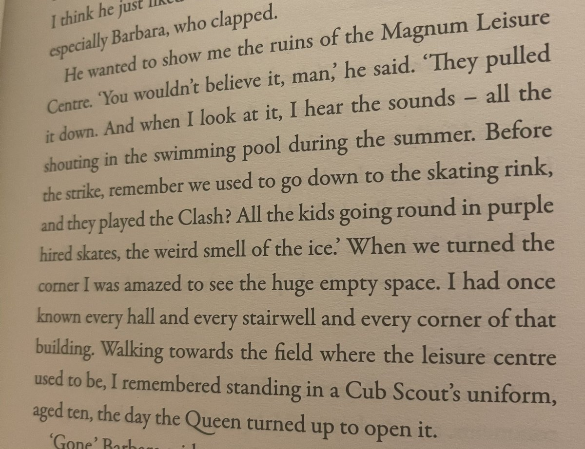 Tfw a paragraph in the book you're reading is like an extract from your own childhood #Irvine #Magnum