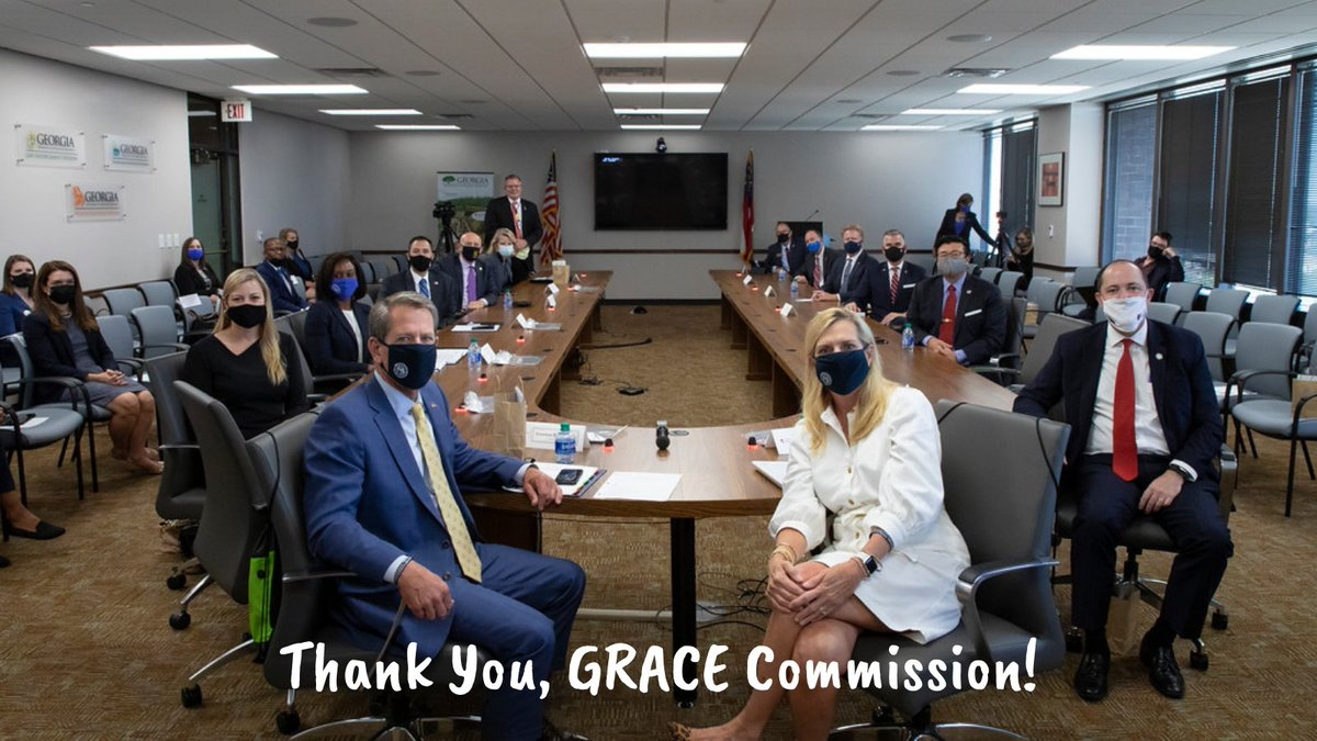 """""""On Human Trafficking Awareness Day, we are grateful for the efforts of @GovKemp, @GAFirstLady, @Georgia_AG, and others on the GRACE Commission to seek justice for victims and hold traffickers accountable."""" -Commissioner King #gapol"""