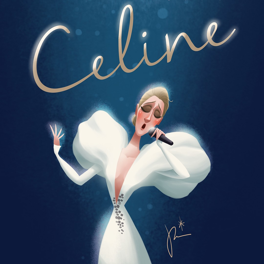 We're loving this #CelineFanArt from Amélie, Callisia, Christopher, and Taitoru! 😍 We're always motivated by the talent and creativity of Celine's fans! // C'est toujours motivant de voir le talent et la créativité des fans de Céline ! - Team Céline #MondayMotivation