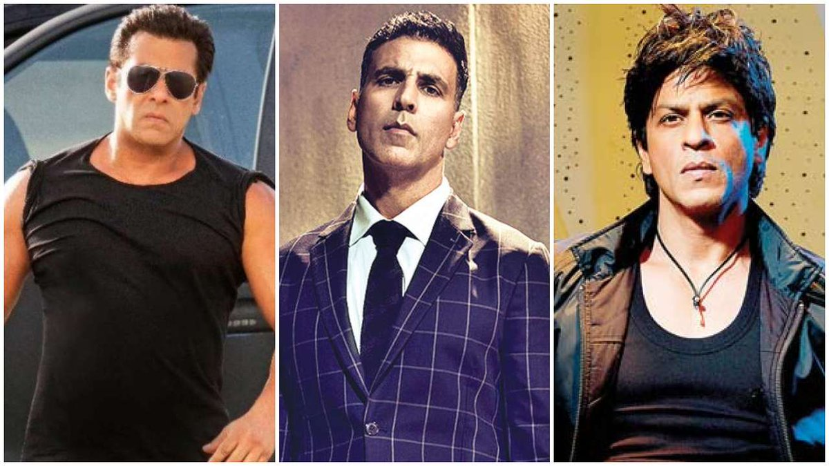 Biggest Bollywood Birthday Trends 2020 (Reach Wise): #HappyBirthdaySRK - 4.1 Billion #HappyBirthdaySalmanKhan - 2.7 Billion #HappyBirthdayAkshayKumar - 1.7 B  #ShahRukhKhan #SalmanKhan #AkshayKumar. These 3 SUPERSTARS enjoying huge fan base among #bollywood actors in India.