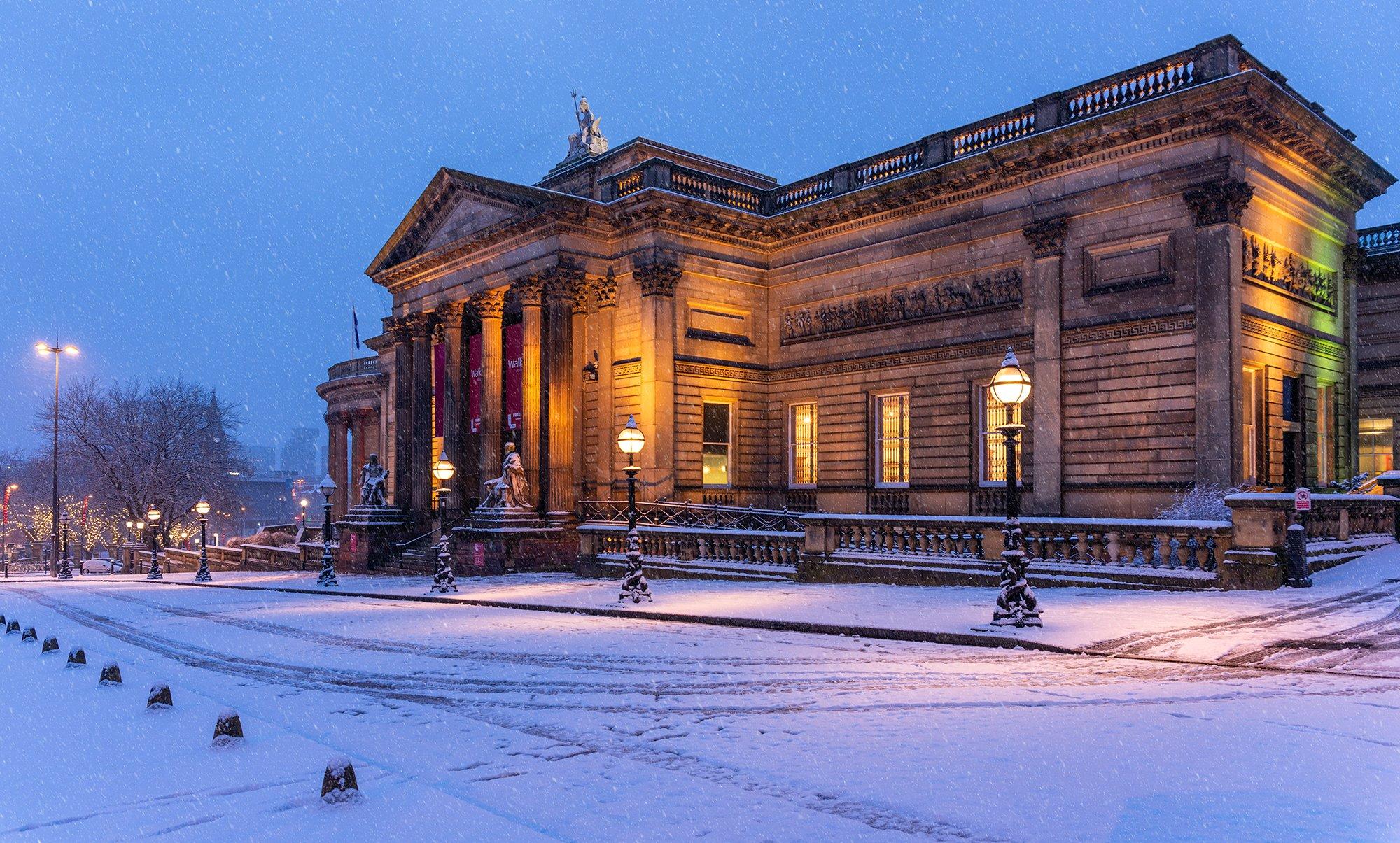Snowing, Walker Art Gallery, William Brown Street, Liverpool
