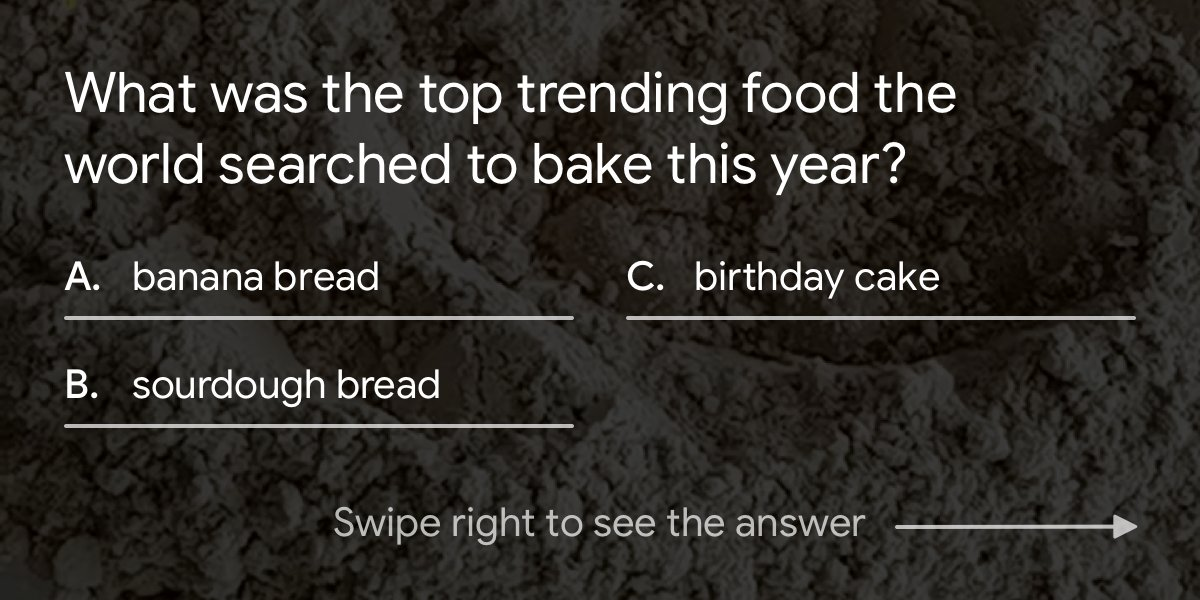 What else rose to the top of search interest this year? 🍞🚀 Explore the year's top trends →