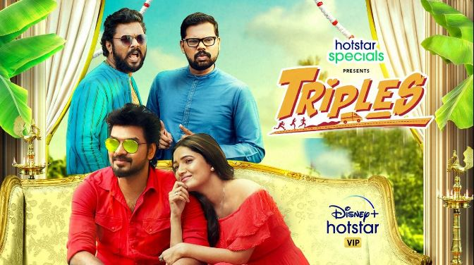 #Triples is available for free in all hd qualities only on   #hotstar #Triplesthefun