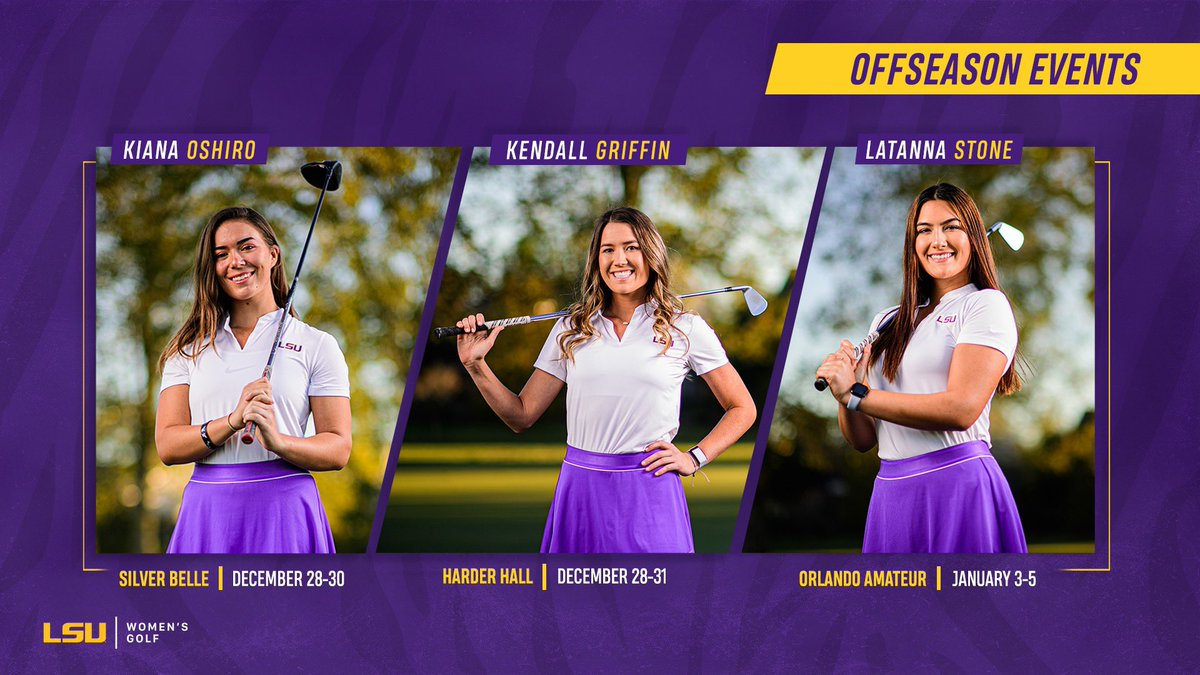 Offseason? Never heard of it.   The amateurs are ready to geaux.   📈Silver Belle: https://t.co/JLoSHUmnMb  📈Harder Hall: https://t.co/zKk0O2mKgO https://t.co/coLbQ26O0d