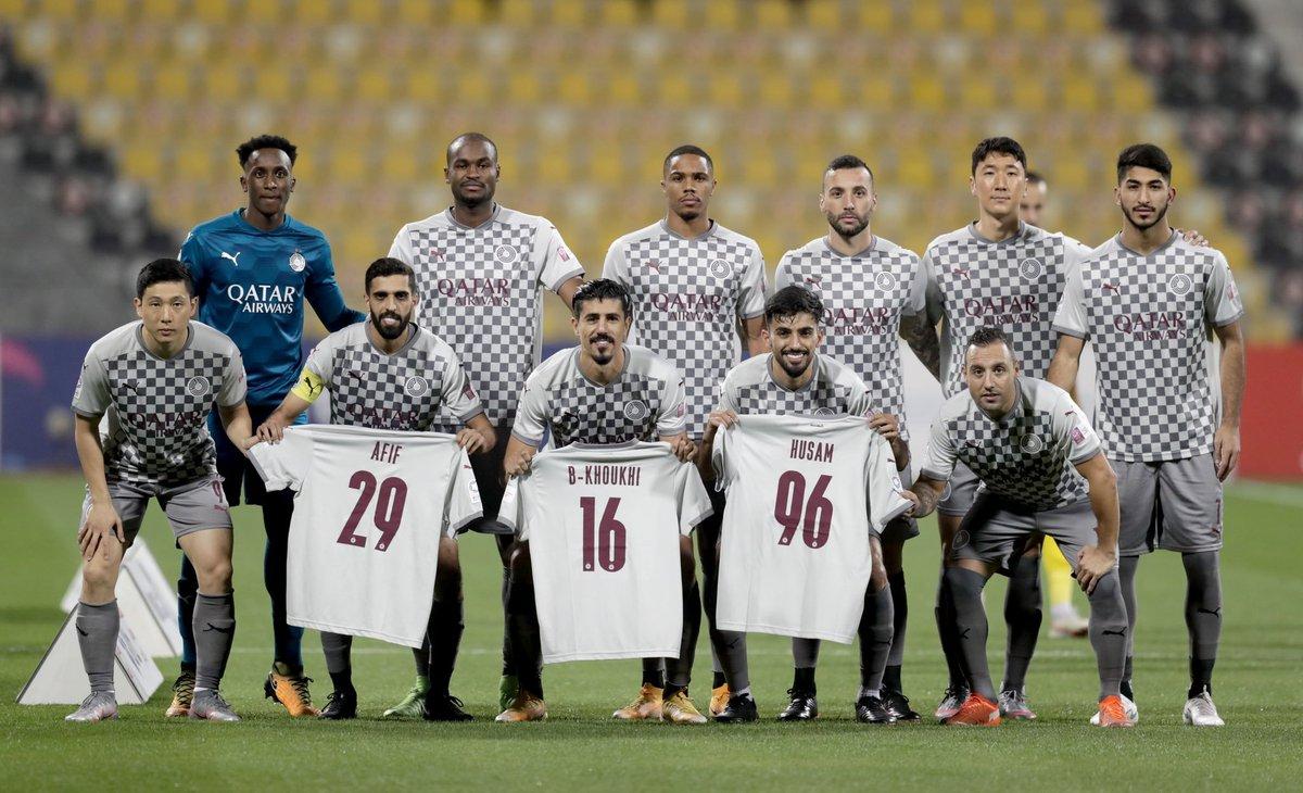 لاعبو السد يدعمون زملائهم أكرم عفيف و خوخي بوعلام وحسام كمال المصابين بفيروس كورونا