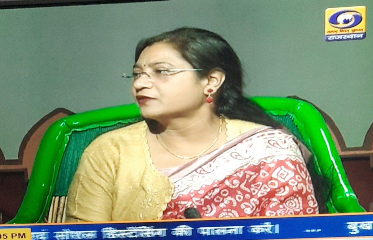 Hosted @ddrajasthantv choupal on #Respiratorydiseases.