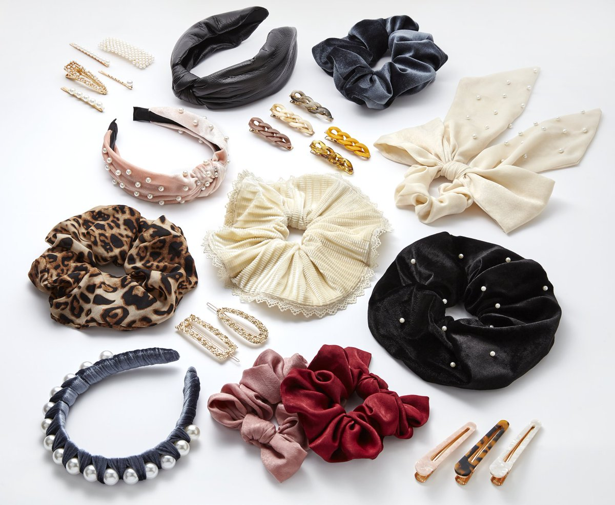 Bring a little bling to your New Year's Eve at home. ✨ Grab all your hair accessories today 👉