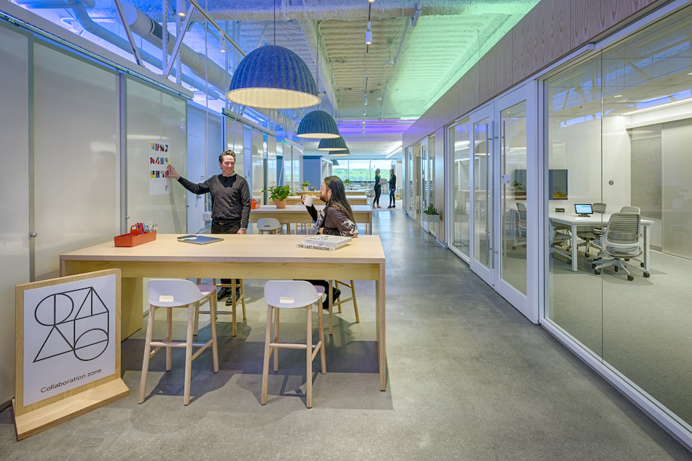 Designing a setting for creativity and calm was key for this @Google user group. Thanks to @workdesignmag for this in-depth look at one of our latest #SiliconValley workplace projects!