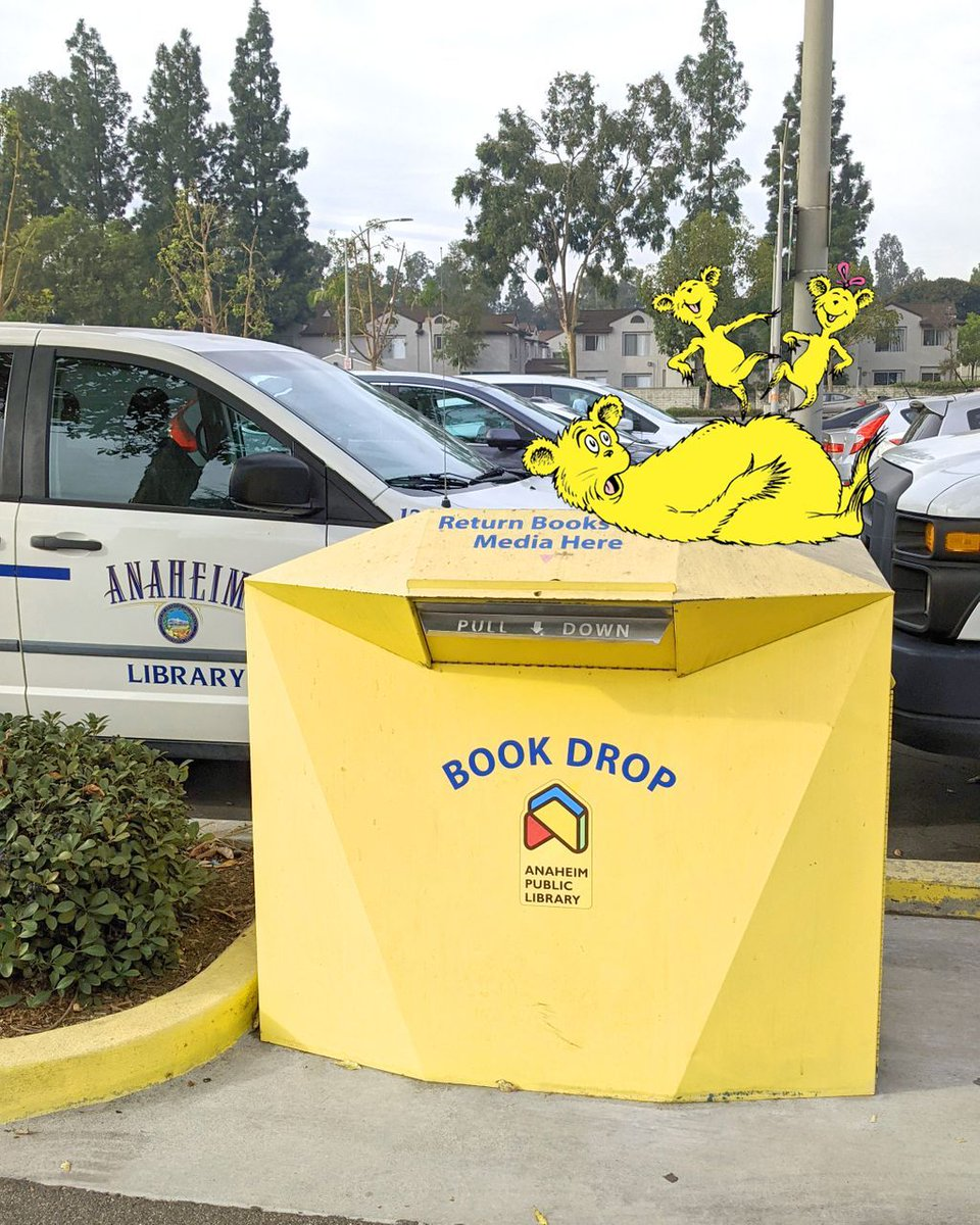 And we're back again ... you've seen Elf on a Shelf, but have you seen ... Hop on Pop on a Bookdrop?! #myelf #MyElfChallenge #anaheim  Find more Continued Services at