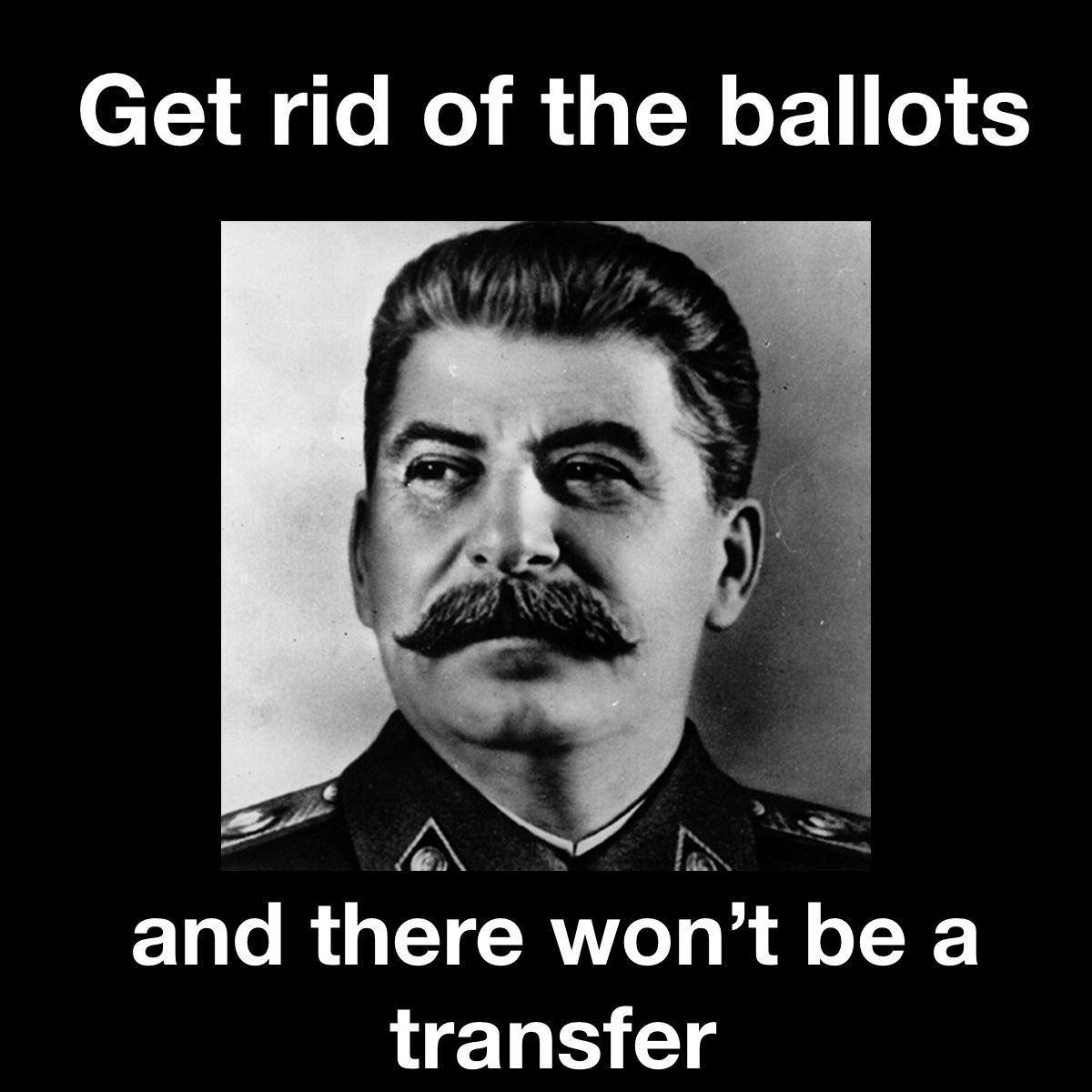 Joseph Stalin meme.  Memes of Sedition.