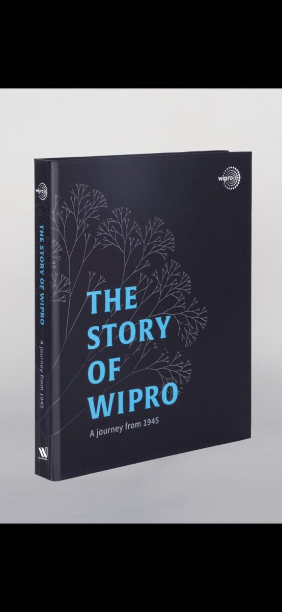 75 years ago today, on Dec 29, 1945 my grandfather MH Premji registered a co. called Western India Vegetable Prdts Ltd. Today, we unveil the story of its making into Wipro, a global IT co. For 53 of those 75 yrs, Wipro was led by my father..(1of2) #TheStoryofWipro #75YearsofWipro