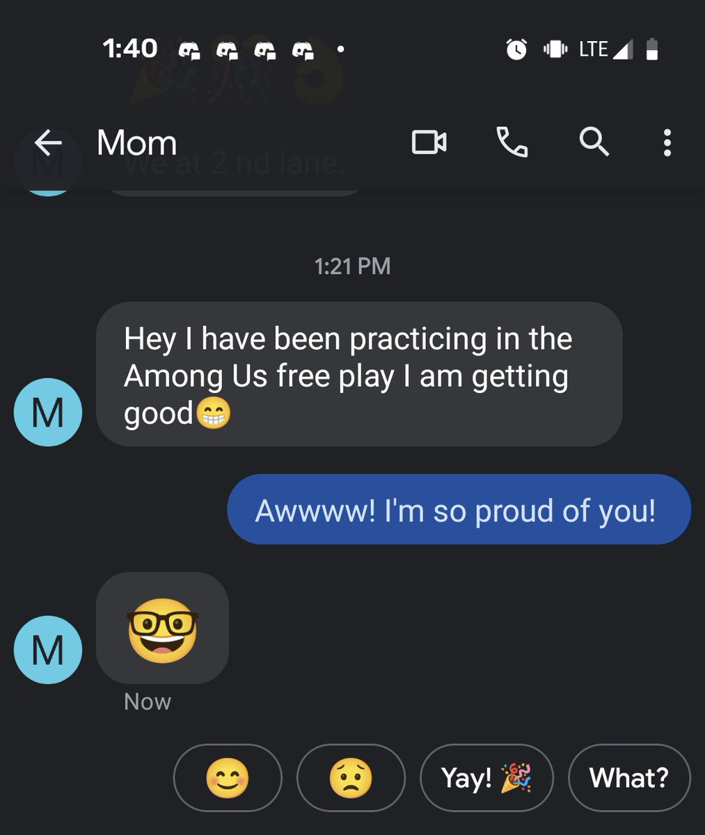 My mom is pretty sus (and cute)  #amongus #amonguswrapped #gamermom