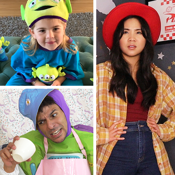 You've got a friend in these Toy Story super fans! Join Sholom and Zoey Solomon, Khleo Thomas, and Jenna Alvarez for some rootin', tootin' scene recreations in honor of #ToyStory25.
