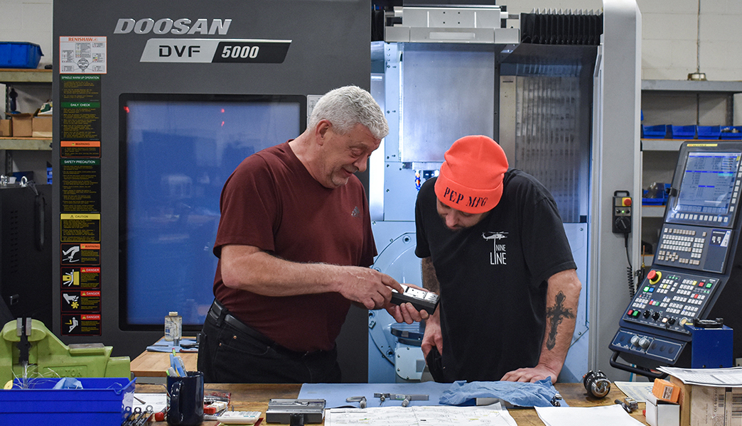 See how the team at Pep Manufacturing Inc. opened up new opportunities to #MAKEMORE parts, time, and money with the addition of @doosanmta's five axis technology. --https://t.co/v8PIkDtLVB  #cnc #machining #mfg #milling #fiveaxis #5axis #machinist https://t.co/ksow3tit7M