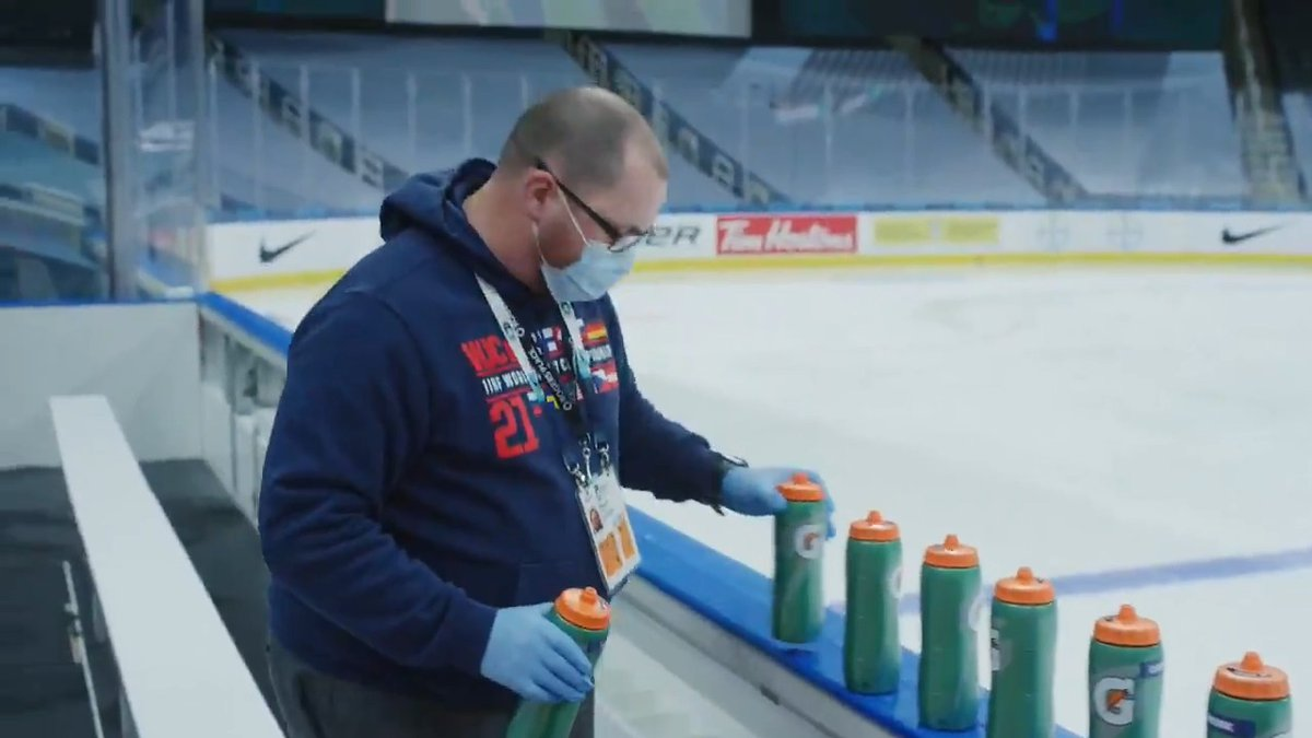 WORLD JUNIORS EXCLUSIVE | Top-of-the-line team services.   How many loads of laundry are done every day at the #WorldJuniors? How are the benches set up ahead of practices? Meet the team of volunteers putting in long hours to work their magic behind the scenes.