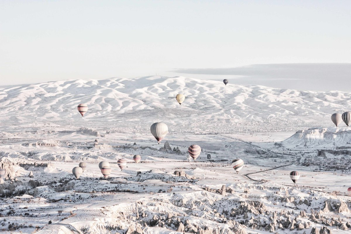 #Cappadocia offers travelers a wealth of adventures, whether you're a history buff or bold explorer.  Connect with a local guide in #Turkey:   📸: @yonatananugerah