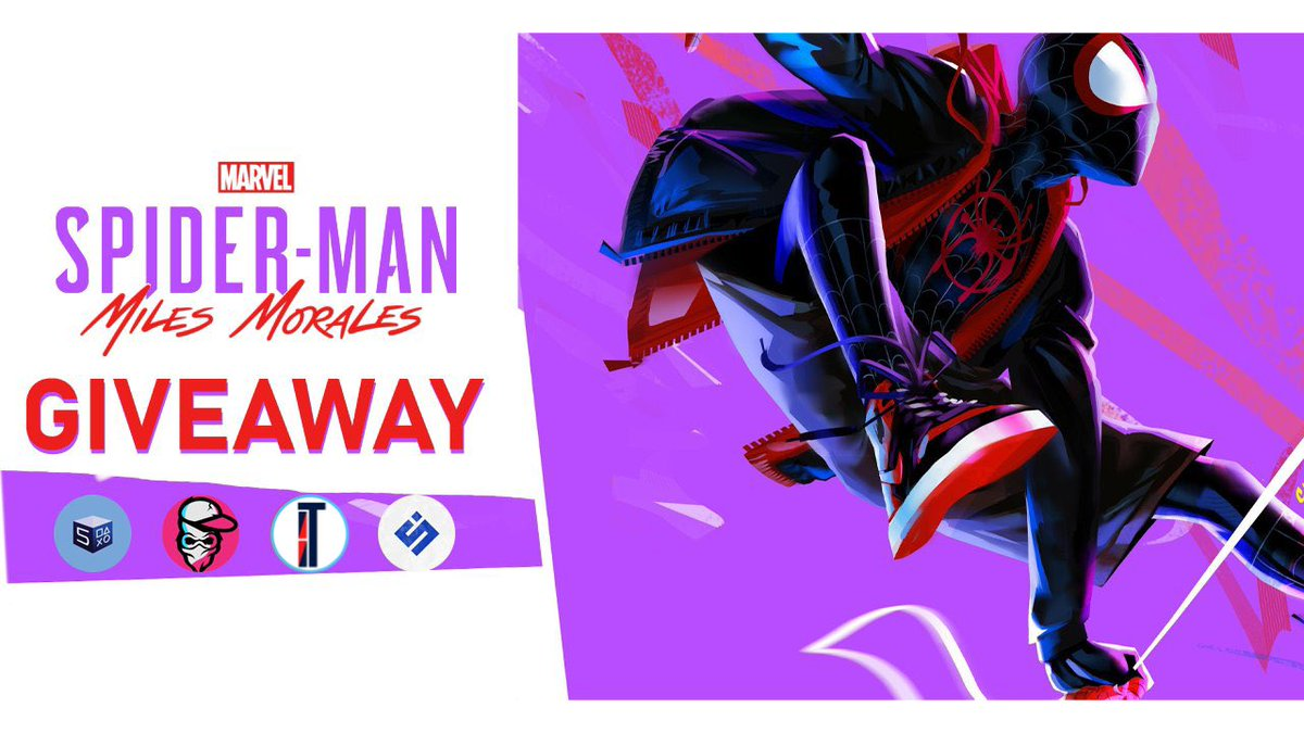 [Giveaway] Spider-Man Miles Morales Giveaway! To enter follow:  -@ItsIsaacTech  -@spieltimes  -@PS5Drop -@YtNextGenGaming  -Retweet   Winner Announced in 24 Hours Good Luck!