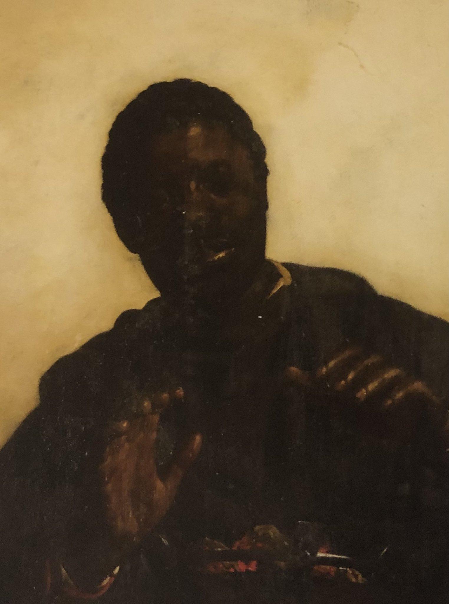 """""""Zwarte jongen warmt zijn handen aan kooltjes"""", Jan de Braij, 1662"""