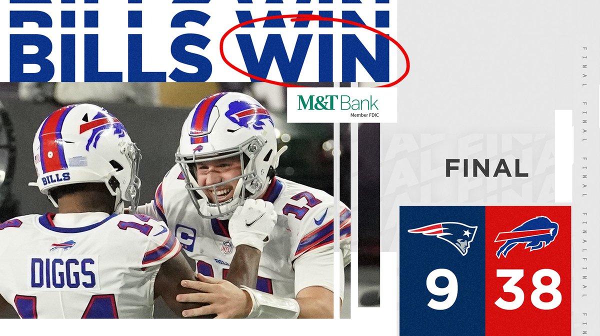 Buffalo Bills On Twitter Bills Win Bufvsne Billsmafia