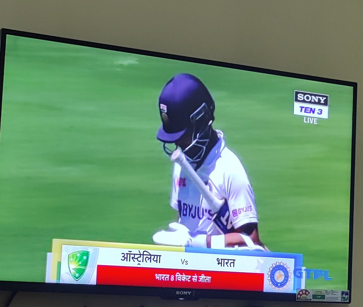 @imVkohli Great to see the character of Ajinkya Rahane after the win,what a calm composed man he is,and Shubman gill,a man of high quality. What's pleasing to see is that the team is not @imVkohli dependent at all! That's the spirit. Signed off the 2020 in style, the Jinks Style,Jai Hind🇮🇳