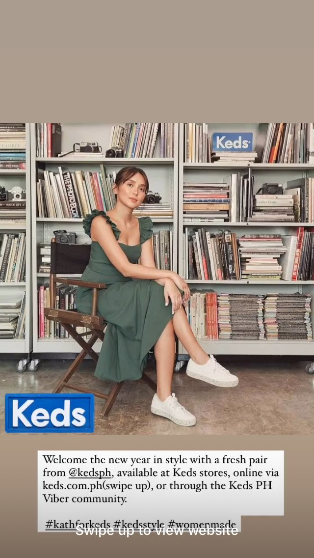 Welcome the new year in style with a fresh pair from @KedsPH   #KathforKeds   📸: bernardokath igs