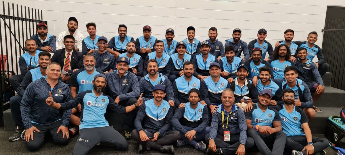 A unit like no other. United through the highs and lows. Fantastic performance by the team at the MCG.🏟️💯  Looking forward to Sydney 🇮🇳🙌