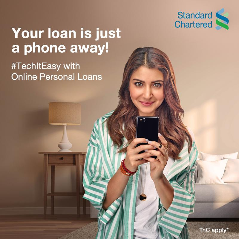 Give all your finance-related stress a rest. Be it your favourite gadgets, dream vacay, home renovation, or education, #TechItEasy with Standard Chartered's zero-contact video KYC for Personal Loans. To know more,  #StandardChartered  #VideoKYC