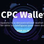 Image for the Tweet beginning: The latest version of CPC-Wallet