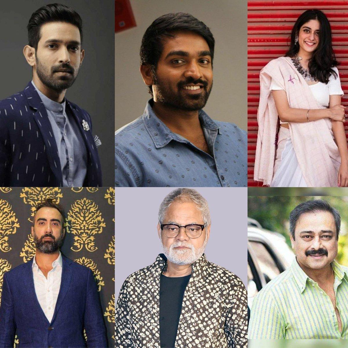 #VikrantMassey, #VijaySethupathi, #TanyaManiktala, #RanvirShorey, #SanjayMishra & #SachinKhedekar with such a strong casts, Cinematographer #SantoshSivan is about to direct #Maanagaram (Remake) of #Master Director #LokeshKanagaraj's work!  Written by #AmitJoshi & #AradhanaDebnath
