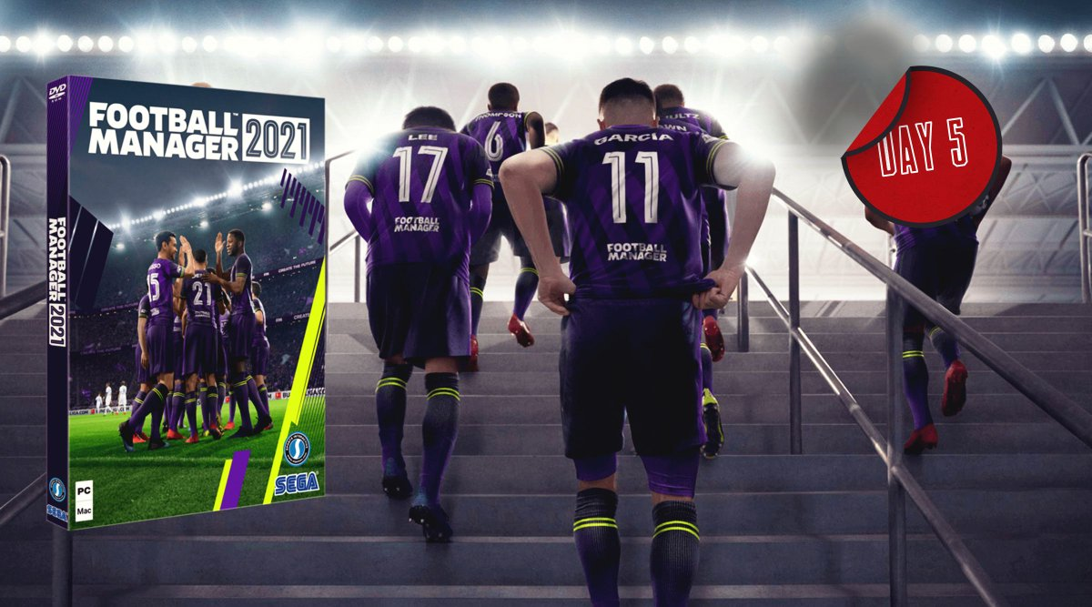 GIVEAWAY! 🎁  RT and follow to #win a copy of Football Manager 2021!  We have three to give away, courtesy of @FootballManager and @SI_games - and the codes work with Epic Games. The competition ends 11am tomorrow. Good luck...